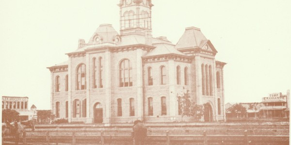 1896 Matagorda County Courthouse