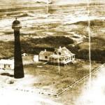 aerial-matagorda-island-lighthouse